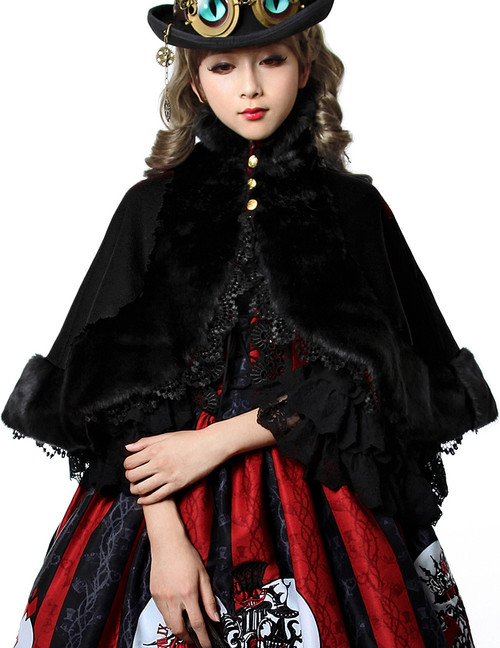 The Queen's Throne Alice Lolita Steampunk Spade Shape ...
