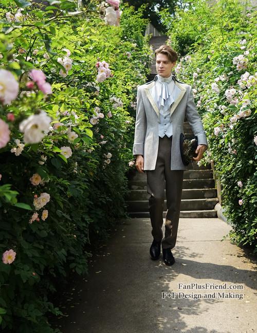 Steel Rose, Elegant Gothic Aristocrat Dandy Ouji Slim ...