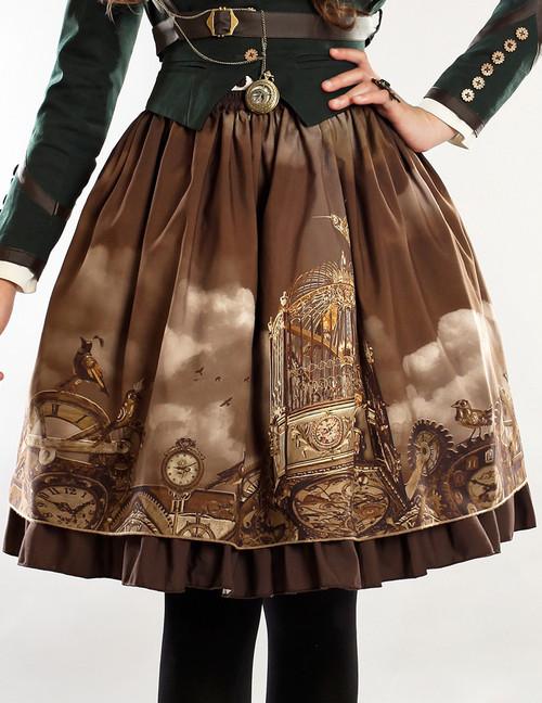 Model Show (Brown Ver.) (petticoat: UN00026)