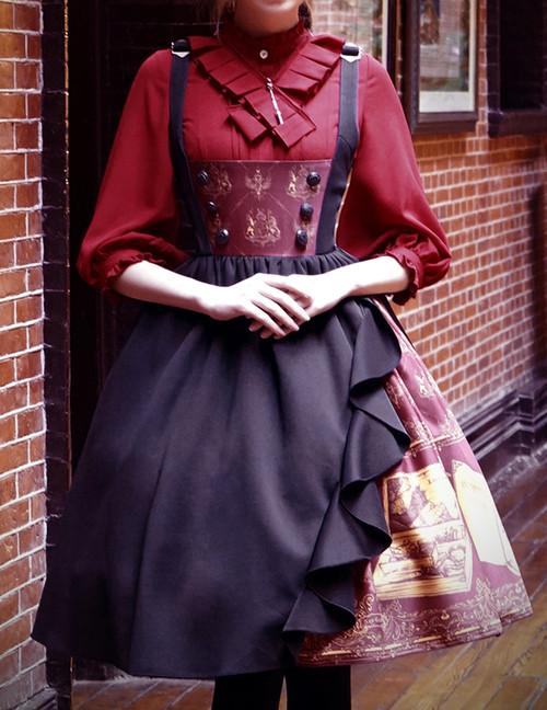 Model Show (Red Cherry + Black Ver.) (blouse: TP00167, petticoat: UN00019)