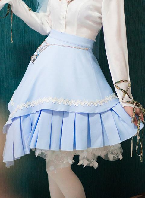 Model Show (Sky Blue Ver.) (blouse: TP00173, petticoat: UN00026)