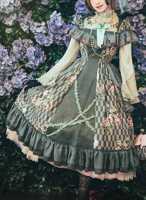 Model Show (Grey Ver.) (blouse underneath: TP00174, petticoat underneath: UN00019, UN00029) other items NOT for sale