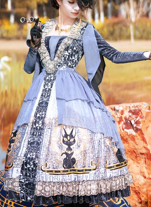 Model Show (Sliver + Grey Ver.) (gloves: P00581, petticoat: UN00019, UN00026)