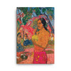 "Paul Gauguin ""Red Passion"" Neoclassical Pop Art on Canvas"
