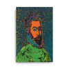 "El Greco ""La Araucana"" Neoclassical Pop Art on Canvas"