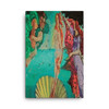"Botticelli ""Venus Rise"" Neoclassical Pop Art Print on Canvas"