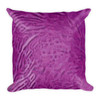 Goya Square Neoclassical Pop Art Green burgundy decorative pillows by BWM Collection