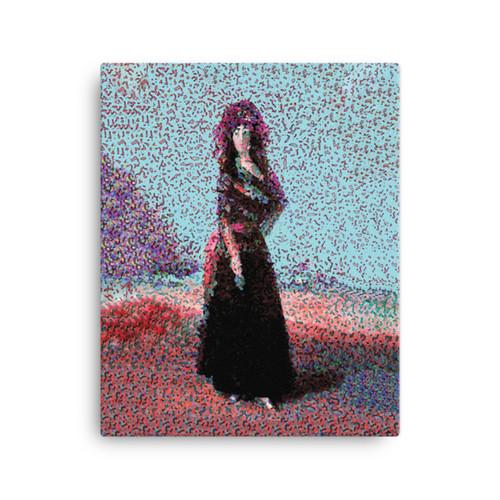 """ Pause Goya Pose"" Canvas"