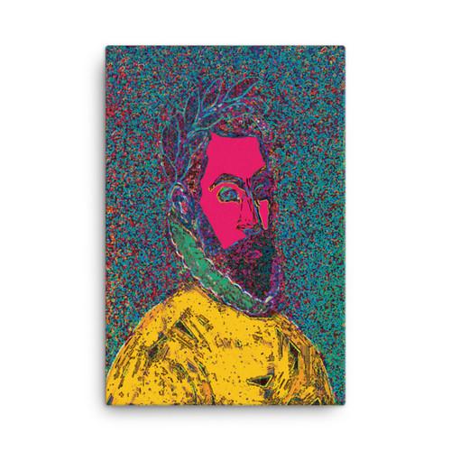 El Greco Neolassical Pop Art on Canvas