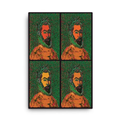 """El Greco """"La Arkuna Gradual"""" Neoclassical Pop Art Print on Canvas"""