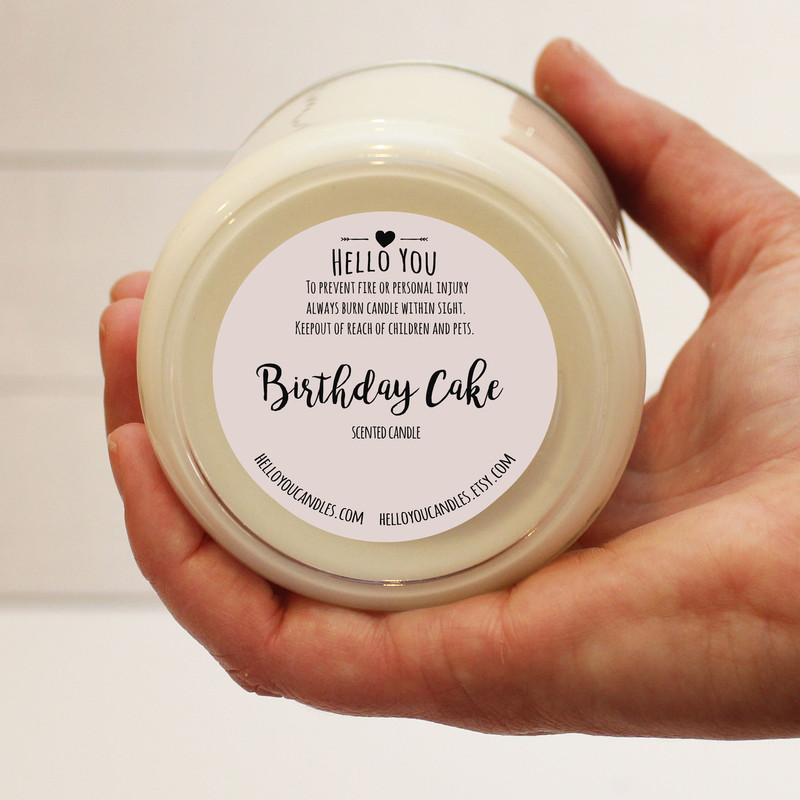 Have An Awesome Birthday Soy Candle Gift