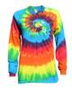 "Dance Tie Dye Rainbow Long Sleeve ""Dance with your Heart"" Logo"