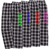 Cheerleading Black/White Flannel Pants