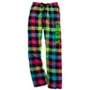 Cheerleading Neon Flannel Pants