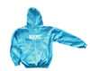 "Custom Cheerleading Youth Tie Dye Sweatshirt ""Cheer"" Logo"