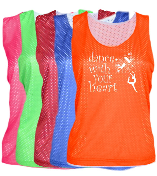 "Dance Pinnie ""Dance with your Heart"" Logo"