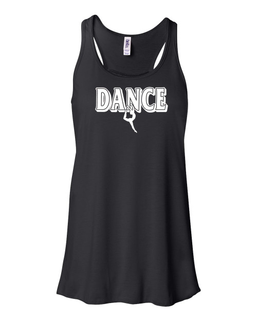 "Dance Flowy Tank ""Small Dancer"" Logo"