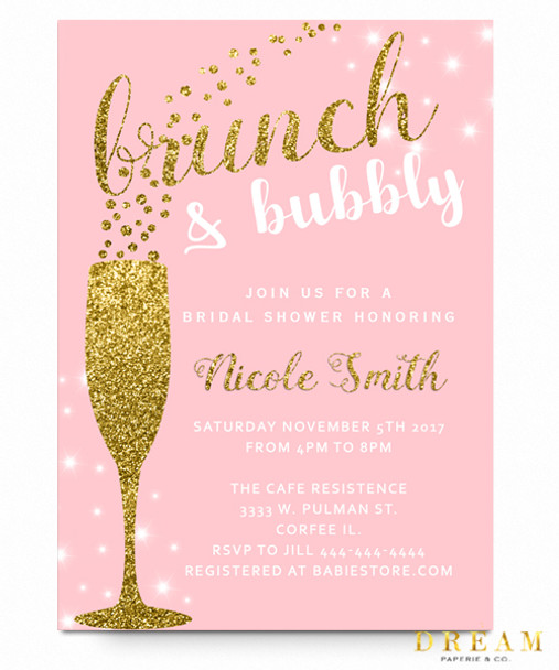 online pink low tea shower as cheap print invitations party product bridal