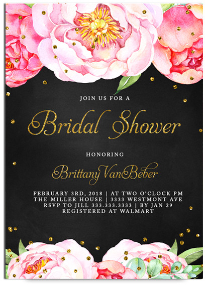 Chalkboard bridal shower invitation floral bridal showerchalkboard flowers chalkboard bridal brunch and flowersboho bridal filmwisefo Choice Image