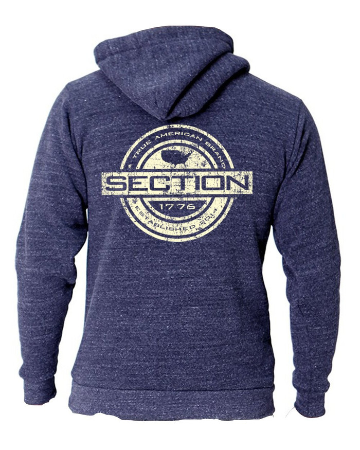 Established Navy Hoodie Pullover