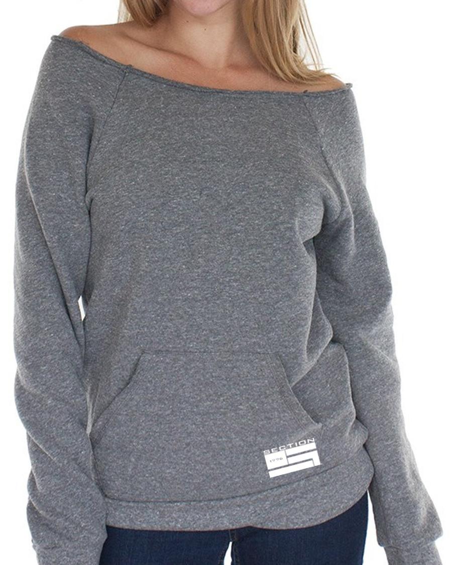 Ladies Grey Triblend Fleece