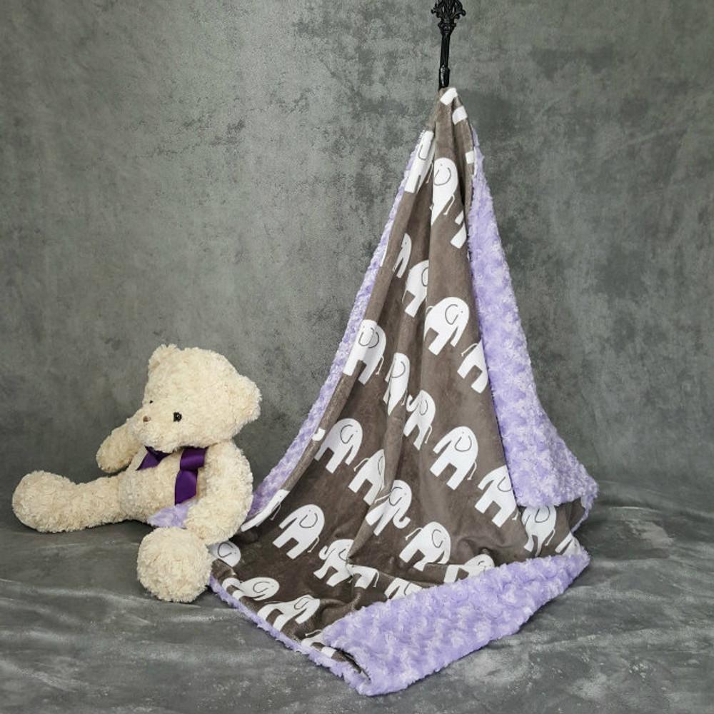Elephants - Blanket