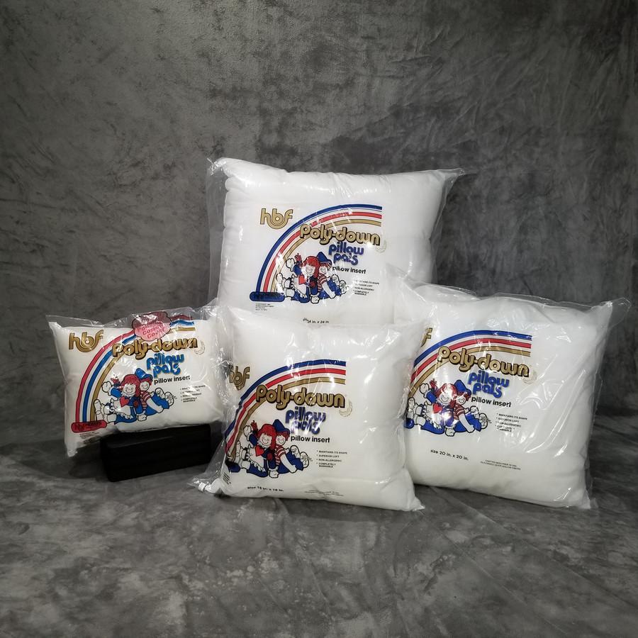 """Pillow Insert Sizes: 12"""" x 12"""",    12"""" x 16"""",    14"""" x 14"""",    16"""" x 16"""",    18"""" x 18"""",    20"""" x 20"""",    24"""" x 24"""",    27"""" x 27"""""""