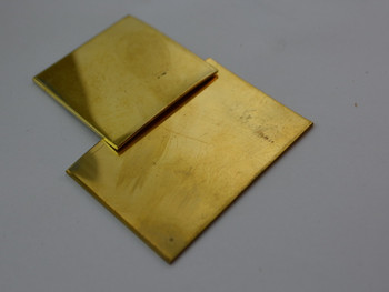 Spacer material, Brass