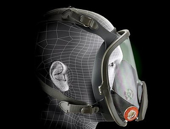 Respirator, 3M Full Face Model 6900 (Size Large)