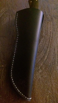 showing a completed sheath, done by Shane Partridge of Blacks Blades.