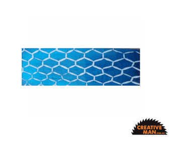 Blue Fence Acrylic Handle Scales