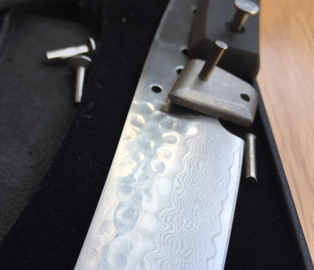 Damascus Steak Blade Kit With Handle Scales