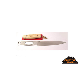 EnZo Carver Knife Kit with Handle Materials