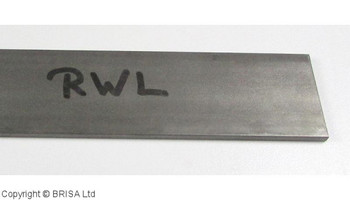 RWL 34,  3.5 x 38 x 500 mm, Damasteel