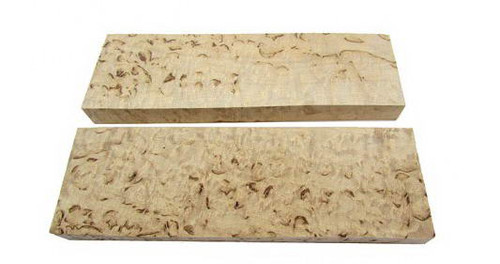 Curly birch extreme grade, the finest pieces