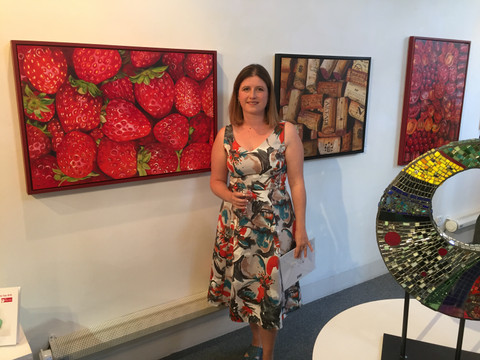 Selected for Surrey Artist of the Year - Exciting.