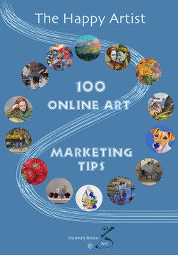 I've just published my first book!  So exciting. '100 Online Art Marketing Tips'.