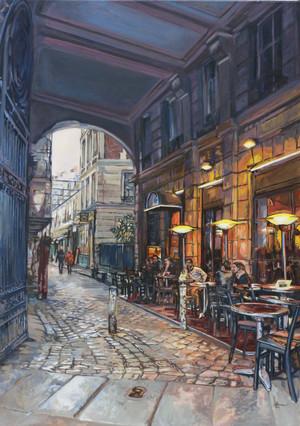 Paris, Rue de l'Ancienne Comédie