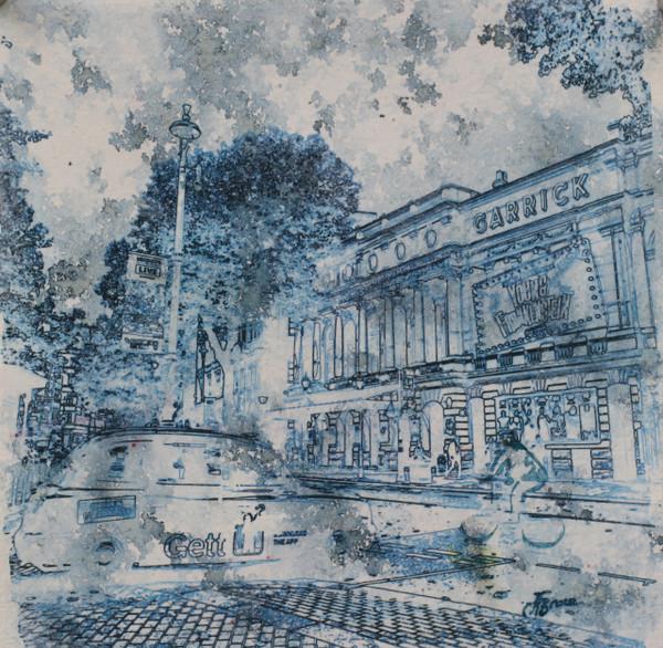 Garrick Theatre London Art