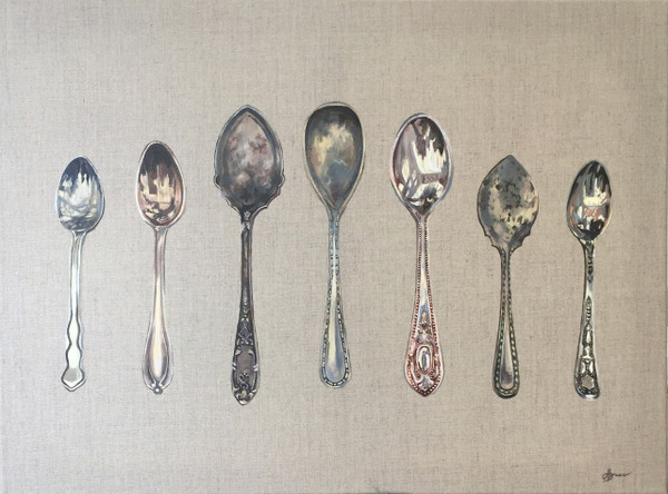 Seven Silver Spoons - Commission