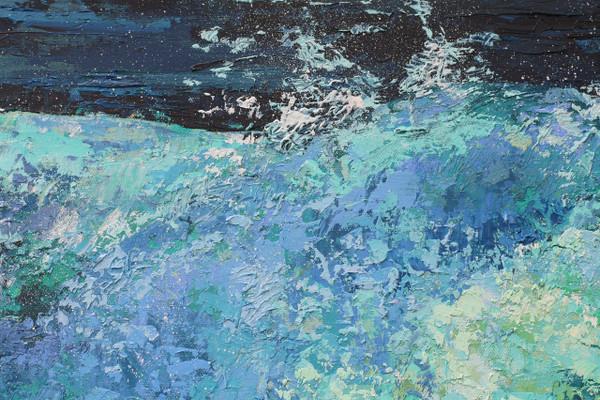 Splashing selection of art work.
