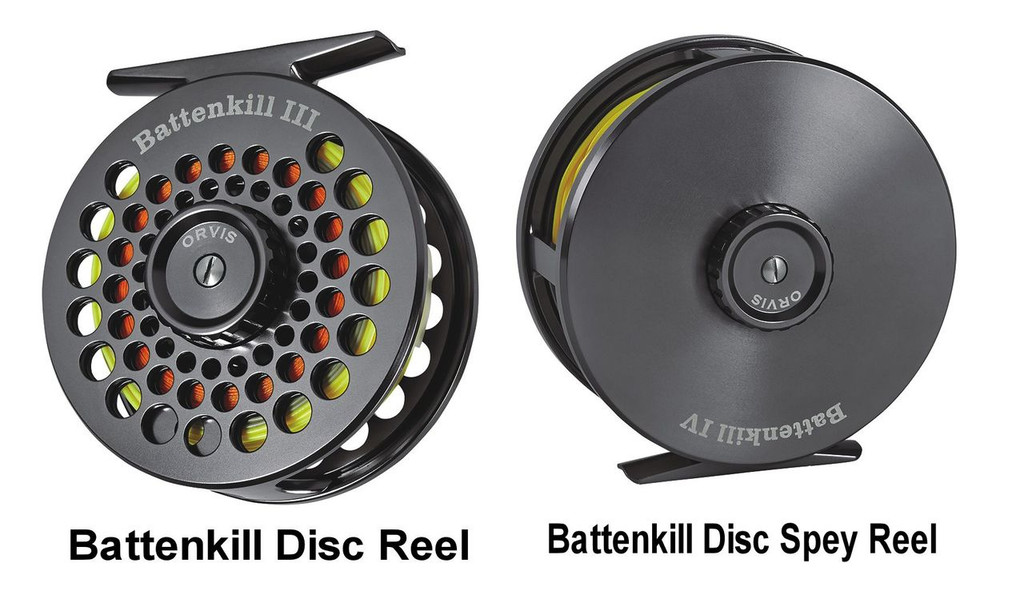 Orvis Battenkill Disc and Battenkill Disc Spey Reel