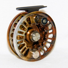 Abel Super 6N Large Arbor Fly Reel, Smallmouth Bass