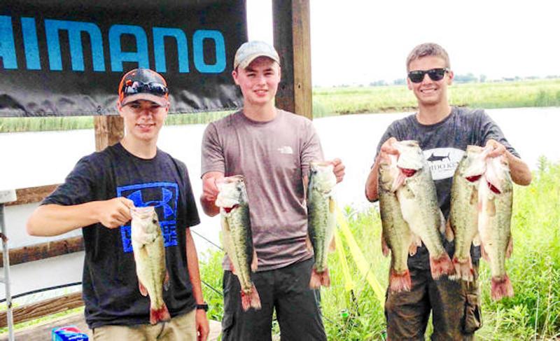 Bass Tournament Winners!