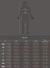 X-ray triathlon skinsuit