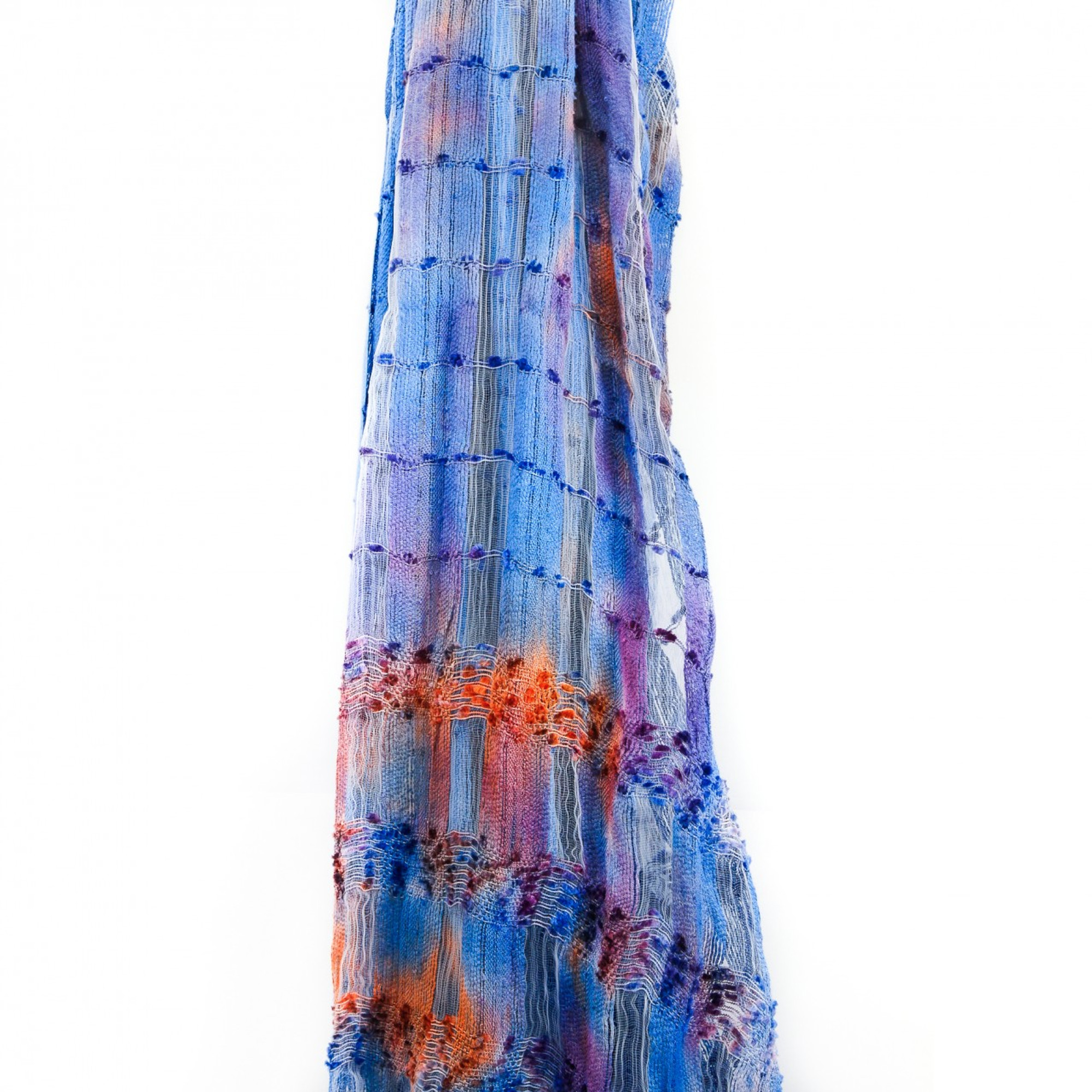 Takas Silk Scarf | Barcelona Nights | Silk Scarves from Spain