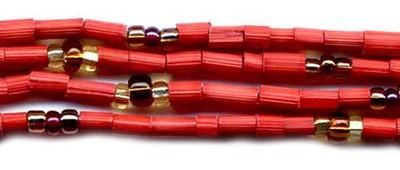 handmade single strand zulugrass african bead jewelry in lori