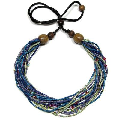 """Handmade Zulugrass African Necklace """"Watamu"""""""