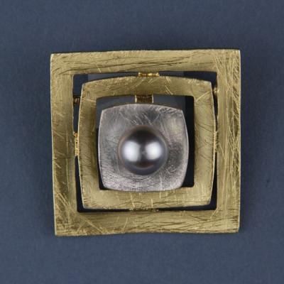 Square Galaxy Pin