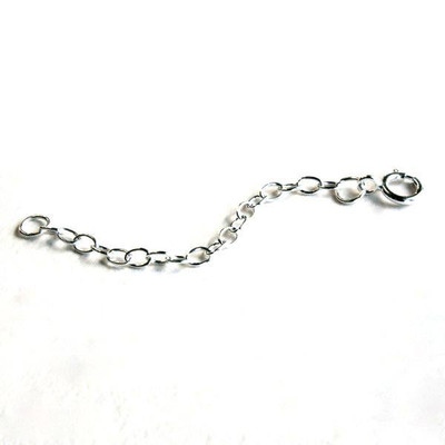 "2"" Sterling Silver Necklace Extender"